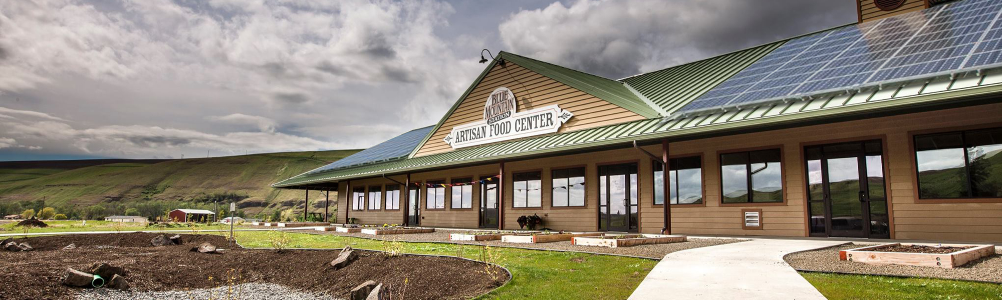 Blue Mountain Station Featuring Fresh Local Products